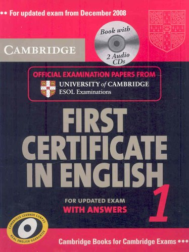 Cambridge First Certificate in English 1 for Updated Exam Self-study Pack