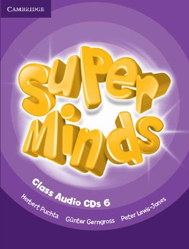 Super Minds Level 6 Class Audio CDs (4) (Лицензия)
