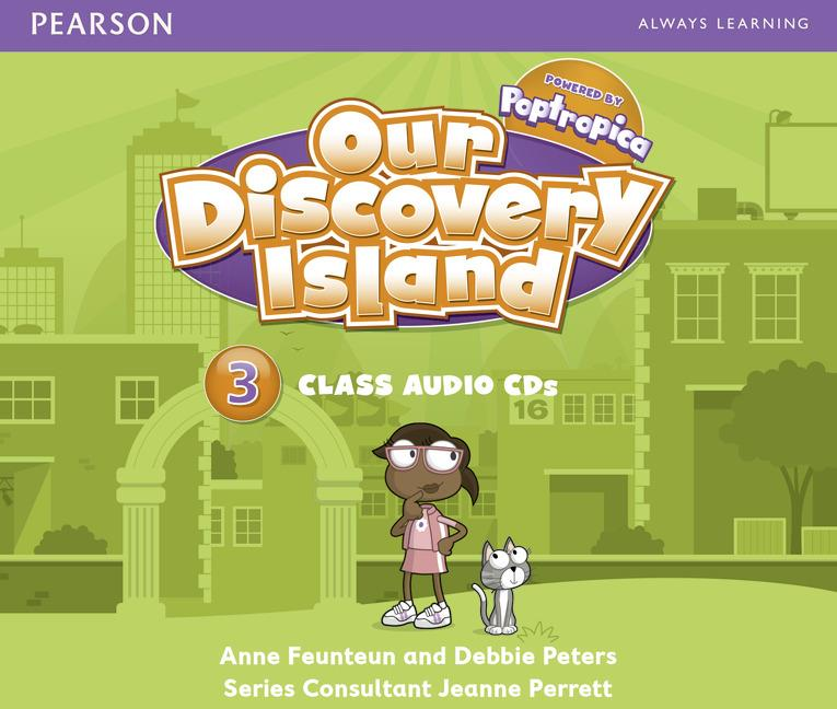 Our Discovery Island Level 3 Audio CDs (Лицензия)