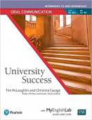 University Success Intermediate Level Oral Communication Student Book with MyEnglishLab