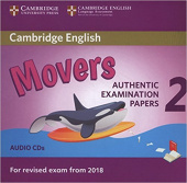 Cambridge English (for Revised Exam from 2018) Movers 2 Audio CD (2) (Лицензия)