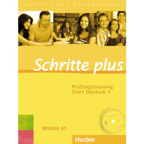 Schritte plus Prufungstraining Start Deutsch 1 mit Audio-CD