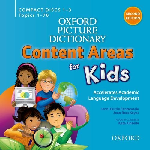 Oxford Picture Dictionary (Second Edition): Content Areas for Kids - Classroom Audio CDs