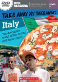 Scholastic DVD Readers Level 3: Take Away My Takeaway: Italy with DVD.