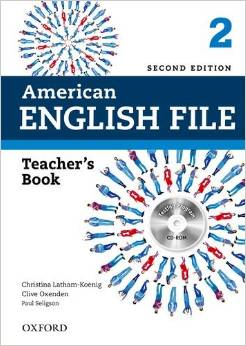 American English File Second edition Level 2 Teacher's Book with Testing Program CD-ROM