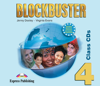 Blockbuster 4 Class Audio CDs (set of 4)