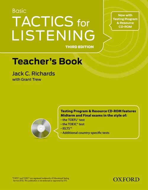 Tactics for Listening Third Edition Basic Teachers Resource Pack