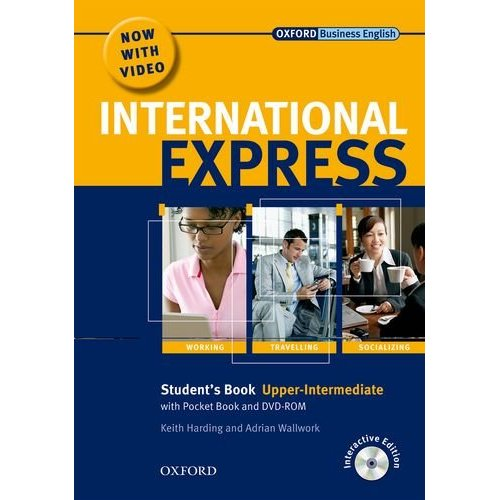 International Express, Interactive Editions Upper-Intermediate Student's Pack: (Student's Book, Pocket Book & DVD)
