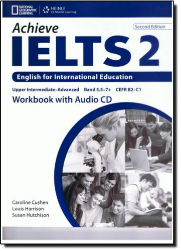 Achieve IELTS 2nd Edition 2 Band 5,5 - 7,5 Workbook Upper Intermediate to Advanced