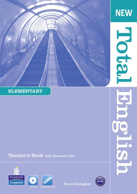New Total English Elementary Teacher's Book (with Resource Disc)