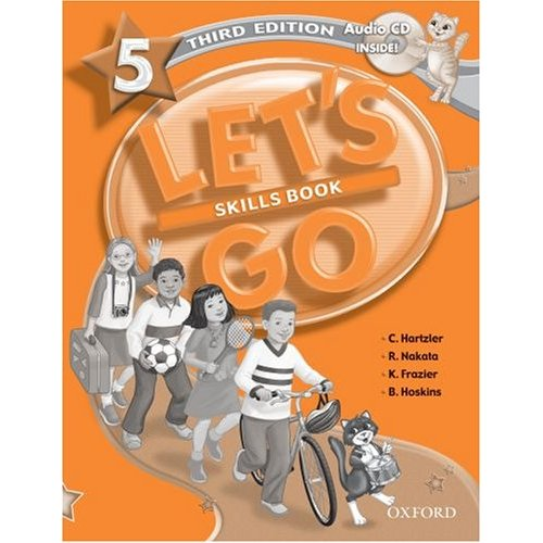 Let's Go Third Edition 5 Skills Book with Audio CD Pack