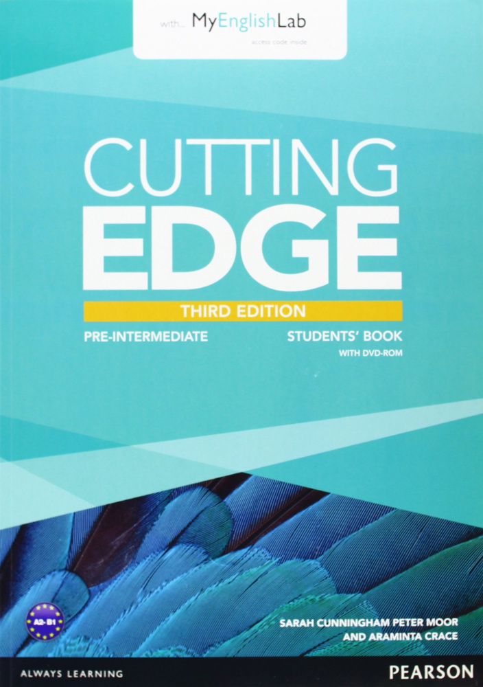 Cutting Edge 3rd Edition Pre-intermediate Students' Book and MyEnglishLab Pack