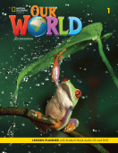 Our World (Second Edition) 1 Lesson Planner + Audio CD + DVD