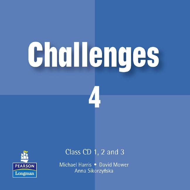 Challenges Level 4 Class CDs (4) (Лицензия)