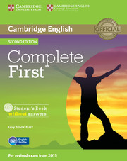 Complete First Second edition (for revised exam 2015) Student's Book without answers with CD-ROM