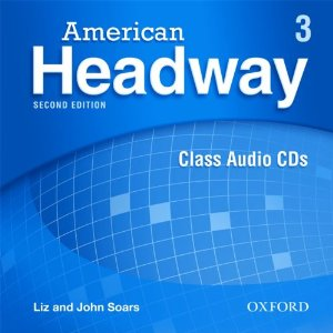 American Headway Second Edition 3 Class Audio CDs (3)