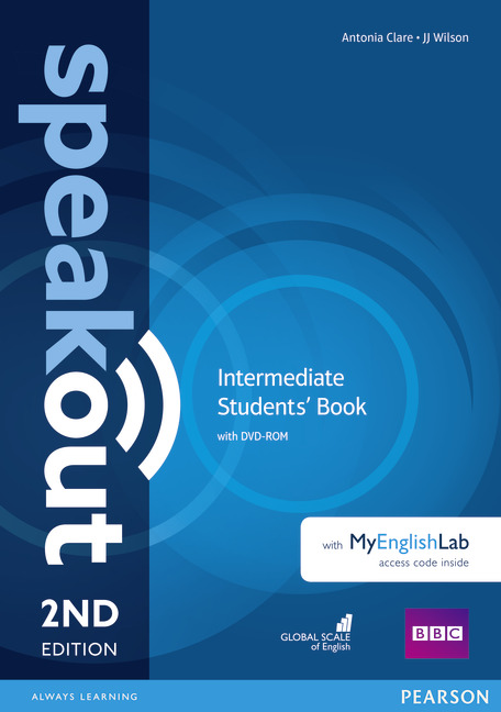 Speakout Second Edition Intermediate Students' Book with DVD & MyEnglishLab