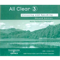 All Clear 3 Student's Audio CD(x1)