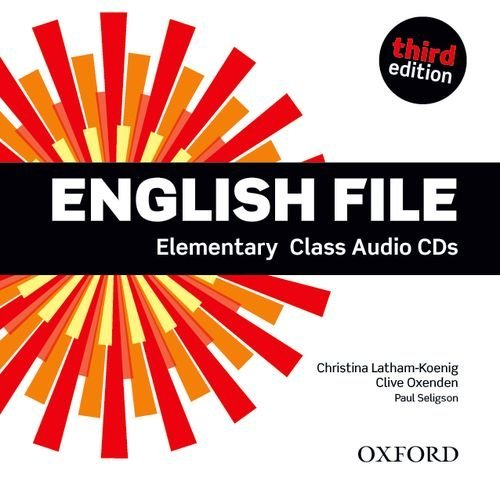 English File Third Edition Elementary Class Audio CDs