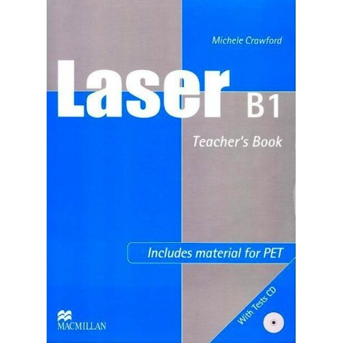 Laser B1 Teacher's Book + Tests CD Pack