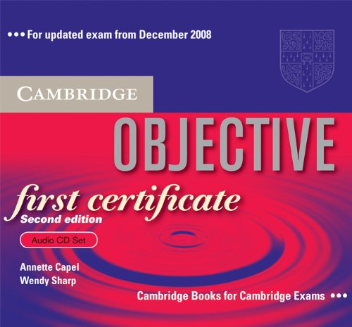 Objective First Certificate (Second Edition) Audio CD Set (3 CDs) (Лицензия)