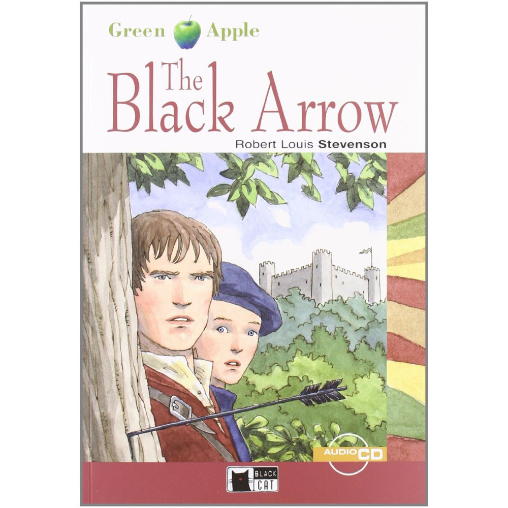 Green Apple Starter:  The Black Arrow with Audio CD