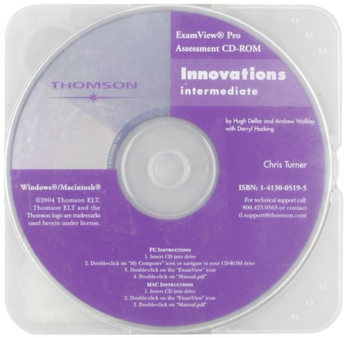Innovations Intermediate Examview CD-ROM