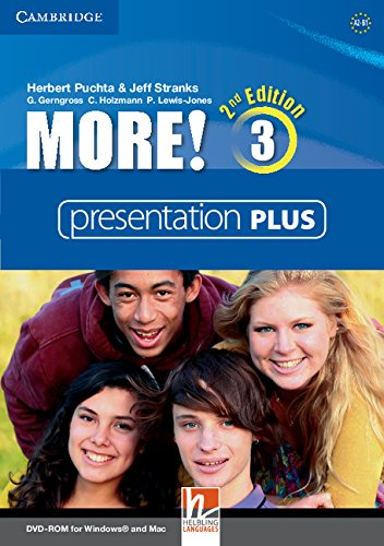 More! Second Edition 3 Interactive Classroom DVD-ROM