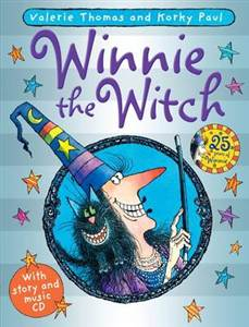 Winnie the Witch (Paperback + CD)