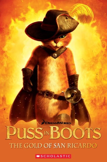 Level 3: Puss-in-Boots: The Gold of San Ricardo + Audio CD
