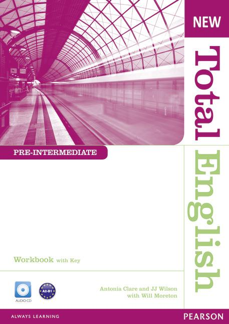 New Total English Pre-intermediate Workbook (with Key) and Audio CD