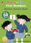Ladybird: Topsy and Tim: First Numbers (sticker book)