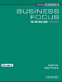 Business Focus Pre-intermediate Workbook and Audio CD Pack