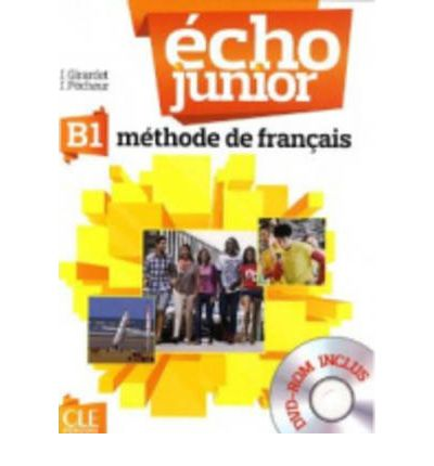 Echo Junior B1 -  Livre de L'Eleve + DVD-Rom