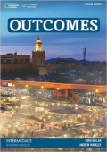 Outcomes Second edition Intermediate Students Book with DVD
