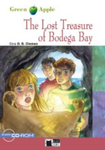 Green Apple Step1:  The Lost Treasure of Bodega Bay with CD-ROM