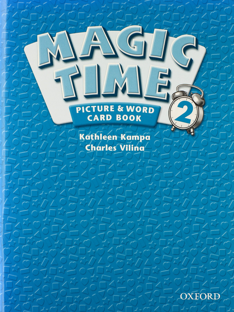 Magic Time 2 Picture & Word Card Book