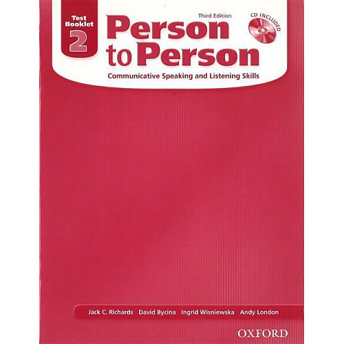 Person to Person Third Edition 2 Test Booklet