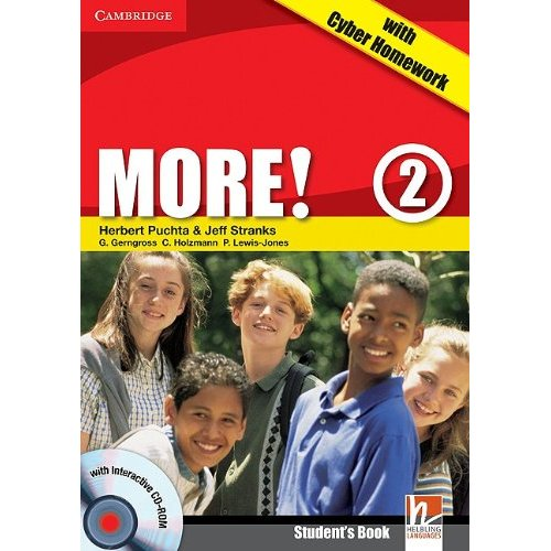 More! Level 2 Student's Book with interactive CD-ROM with Cyber Homework