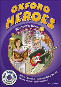 Oxford Heroes 3 Student's Book and MultiROM Pack