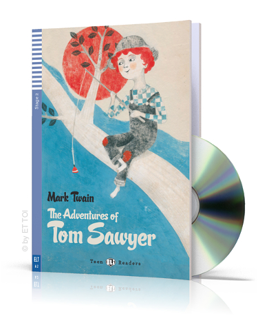 Teen Eli Readers Stage 2: The Adventures of Tom Sawyer with CD (800 headwords)