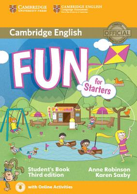 Fun for Starters 3rd Edition Student's Book with Online Activities