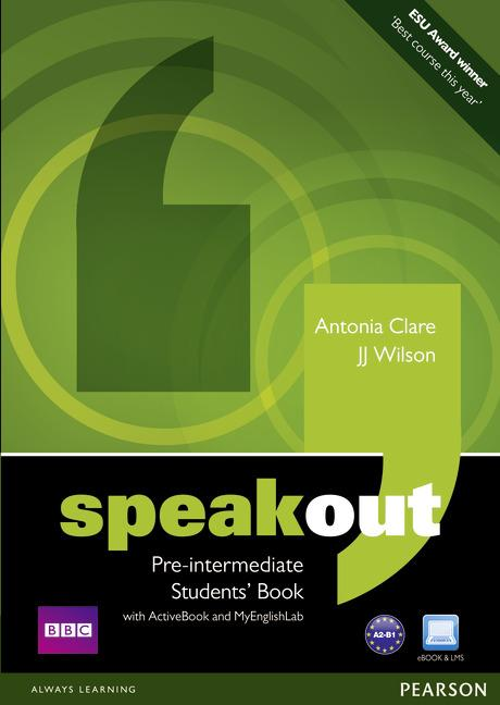 Speakout Pre-Intermediate Student's Book / DVD / Active Book & MyLab