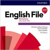 English File Fourth Edition Elementary Class Audio CDs