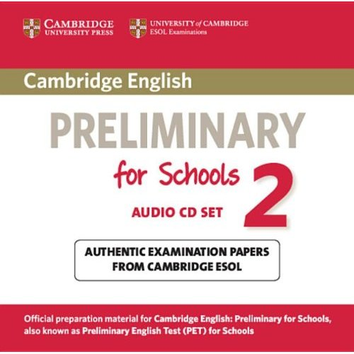 Cambridge English Preliminary for Schools 2 Audio CDs (2) (Лицензия)
