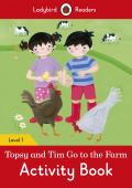 Ladybird: Topsy and Tim: Go to the Farm Activity Book