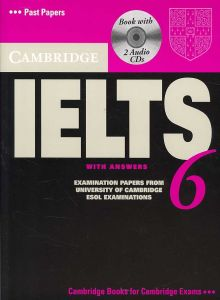 Cambridge IELTS 6 Self-study Pack (Student's Book with answers and Audio CDs (2))