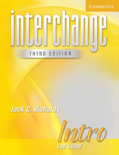 Interchange Third Edition Intro Lab Guide