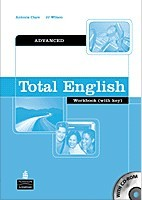 Total English Advanced Workbook with key and CD-ROM