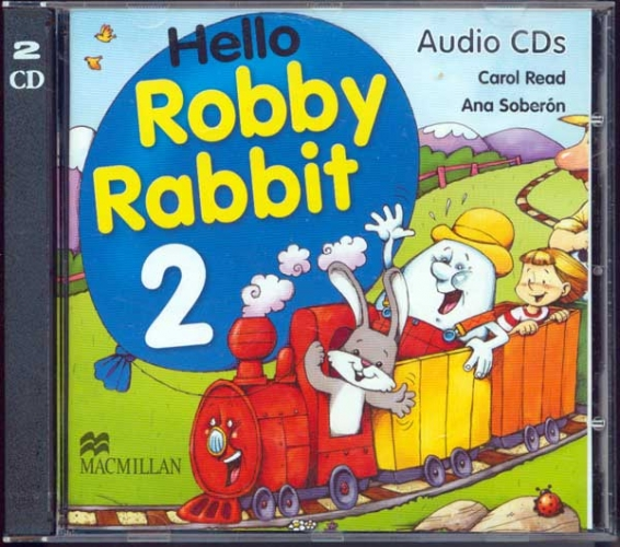 Hello Robby Rabbit  2  Class Audio CD's (2)
